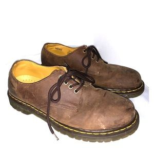 Dr. Martens air wair brown suede shoes size 10